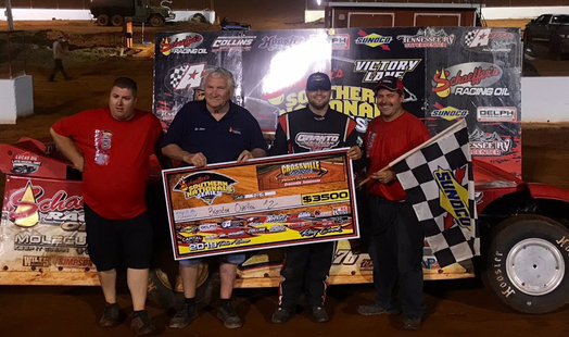Overton Chalks up Win #3 on Southern Nationals Tour